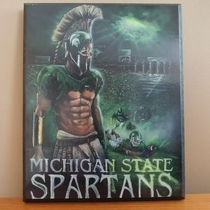 "Michigan State Spartans Wall Art 8""x10"""